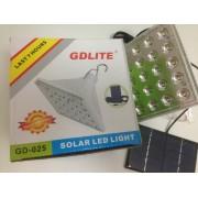 Bec cu LED-uri si acumulator cu incarcare solara Golden Road GR-025