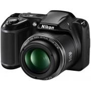 Aparat Foto Digital NIKON COOLPIX L340 (Negru), Filmare HD, 20.2MP, Zoom Optic 28x