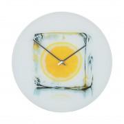 Wandklok Icy Lemon, Pro Art