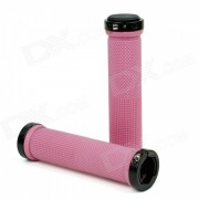 Bike Bicycle MTB Rubber Handlebar Grips - Pink