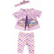 ZAPF CREATION poppenkleertjes afm. 43 cm, »BABY born® vlinderset«