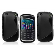 S Case Grip Back Case Cover for BlackBerry Curve 9320 - Value for Money Pack