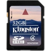 Card de Memorie Kingston SDHC 32GB Class4