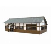 [Miniatuart] Visual Scene Series : Station - 4 (Unassembled Kit) (Model Train) (japan import)