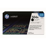 HP 504A Black Original LaserJet Toner Cartridge (CE250A)
