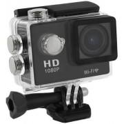 "Camera Video de Actiune Qoltec 50219, Full HD, Ecran LCD 2"", Waterproof, WiFi, pentru casca/ bicicleta/ masina"