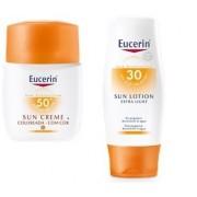 Pack Eucerin Sun Creme com Cor SPF50+ + Eucerin Sun Lotion SPF30+