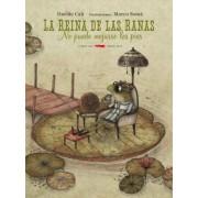 La reina de las ranas no puede mojarse los pies by Davide Cali
