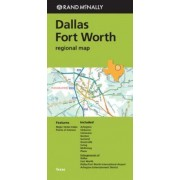 Folded Map Dallas/Fort Worth Reg TX by Rand McNally