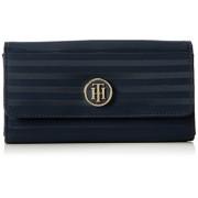 Tommy Hilfiger - Jacquard Nylon Large Ew Wallet, Portafogli Donna
