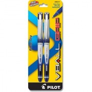Pilot VBall Grip Liquid Ink Rolling Ball Pens Extra Fine Point 2-Pack Blue Ink (35411)
