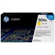 HP 504A gul LaserJet-tonerkassett, original