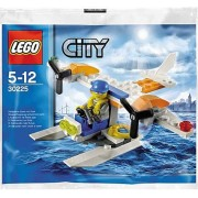 LEGO City Coast Guard Seaplane & Minifigure 30225 Polybag Plane Set