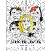 Fanciful Faces Coloring Book by Awesome Coloring Books