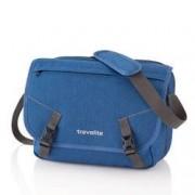 travelite Messenger Bag Basics Blau
