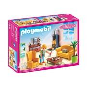 Dollhouse - Woonkamer met houtkachel 5308