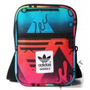 Adidas saszetka torebka na ramię zgrabna praktyczn