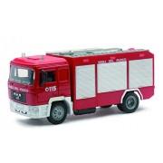 Newray DieCast 1:43 Vigili del fuoco, Camion Man Fire Engine 15083I