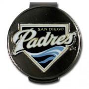 McArthur Sports MLB Padres Hat Clip and Ball Markers【ゴルフ その他のアクセサリー>ディボットツール】