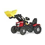 Rolly Toys Massey Ferguson 8650 Tractor with Frontloader