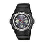 Casio G-Shock AWG-M100-1A Orologio Analogico Digitale da Polso da Uomo, Resina, Nero