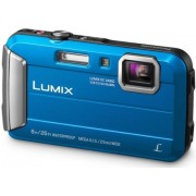 "Aparat Foto Digital Panasonic DMC-FT30EP-A, 16.1 MP, 1/2.3"" CCD, Filmare HD, Zoom Optic 4x (Albastru)"