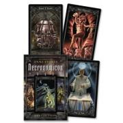 Necronomicon Tarot Cards Kit [With BookWith Tarot CardsWith Black Organdy Bag]