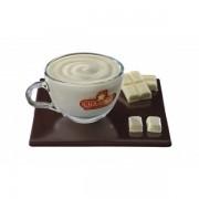 Ciocolata densa Cioconat Alba plic 28 gr (36 plic/cutie)