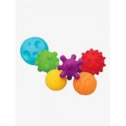 6 Igelbälle mehrfarbig