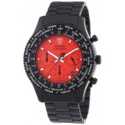 DETOMASO Herren-Armbanduhr Man Firenze Chronograph Quarz SM1624C-RD