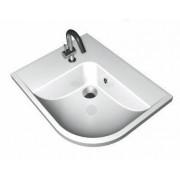 BeHappy mosdó fehér jobbos 500x570x185mm
