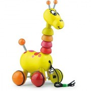 Vilac Push and Pull Baby Toy Paf The Giraffe