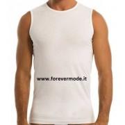 Garda 3 T-Shirt uomo Garda smanicate in puro cotone, collo basso