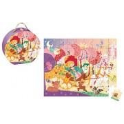 Janod Princess Carriage Puzzle-54 Pcs