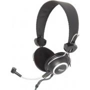 Casti Stereo cu microfon Somic SH-818 (Negru)
