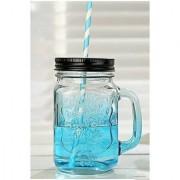 A Beautiful Vintage Mason Glass Color Jar