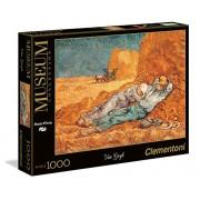 Clementoni 39290 - Puzzle Van Gogh - La Siesta, Collezione Museum, 1000 Pezzi
