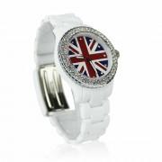 Náramkové dámské hodinky LSW008 bílé
