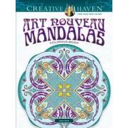 Creative Haven Art Nouveau Mandalas Coloring Book