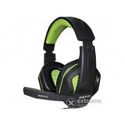 Căști Approx APPGH7G Gaming Headset negru-verde