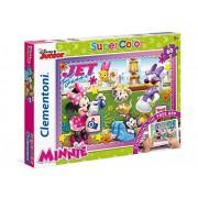 """Clementoni """"Minnie Mouse - Photograph"""" Puzzle (60 Piece), 13.19 x 9.25"""""""