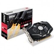 Placa video MSI Radeon RX 460 2G OC, 1210 MHz, 2GB GDDR5, 128-bit, DL-DVI-D, HDMI, DP