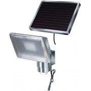 Strahler Solar-LED-Strahler SOL 80 Alu, IP44 mit Bewegungsmelder
