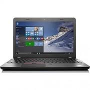 "Lenovo ThinkPad Edge E560 15.6"" Business Laptop: Intel 6th Gen Core i5-6200U   8GB RAM   500GB 7200RPM   FingerPrint Reader   DVD-RW   802.11AC   Windows 7 Professional"