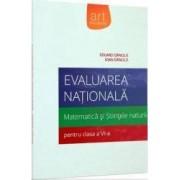 Evaluare nationala matematica si stiintele naturii. Pregatire intensiva cls 6 - Eduard Dancila