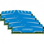 Memorie Crucial Ballistix Sport XT 16GB (4x4GB) DDR3, 1866MHz, PC3-14900, CL10, 1.5V, XMP, Dual/Quad Channel Kit, BLS4C4G3D18ADS3BEU