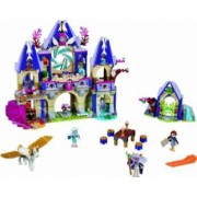 Set Constructie Lego Elves Castelul Misterios Din Cer Al Skyrey