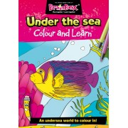 Green Board Games Colour And Learn Under The Sea Colouring Book
