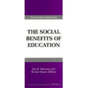 Social Benefits of Education by Jere R. Behrman