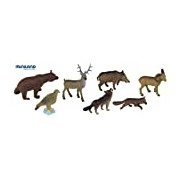 Miniland Forest Animal 8 Pieces in Tub